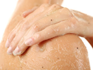 Moisturize with Baby Oil